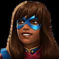 Ms. Marvel (Kamala Khan) portrait