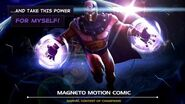Magneto Motion Comic Marvel Contest of Champions