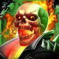Voodoo Skull portrait