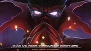 BLOOD AND VENOM SYMBIOMANCER MOTION COMIC Marvel Contest of Champions