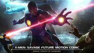 X-Men Savage Future Motion Comic Marvel Contest of Champions
