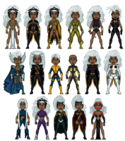 The evolution of storm by geekinell-d77b5fu