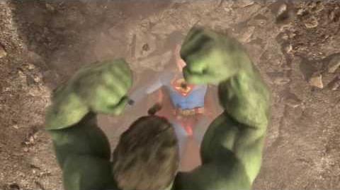 Superman vs Hulk - The Fight (Part 3)