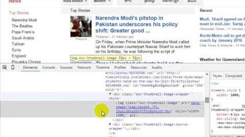 How to view html source code in chrome