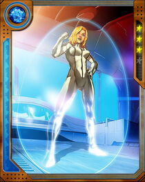 [Fundamental Forces] Invisible Woman