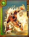 Ball of Fire Human Torch
