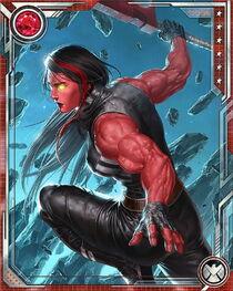 [Raging Beauty] Red She-Hulk+