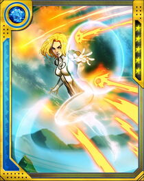 [Fundamental Forces] Invisible Woman++