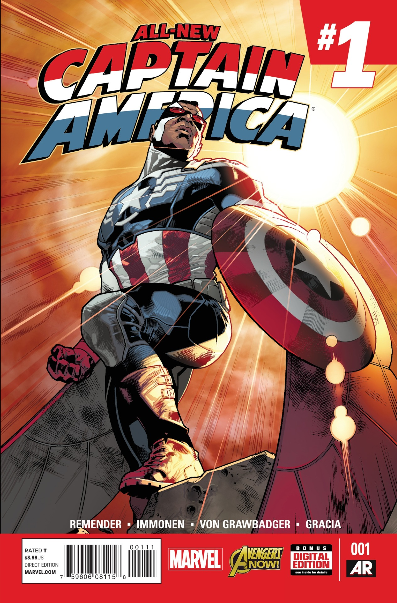 All-New Captain America Vol 1 1