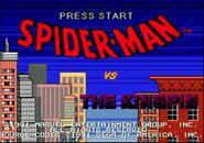 The Amazing Spider-Man vs. The Kingpin (Sega Mega Drive - intro screen)