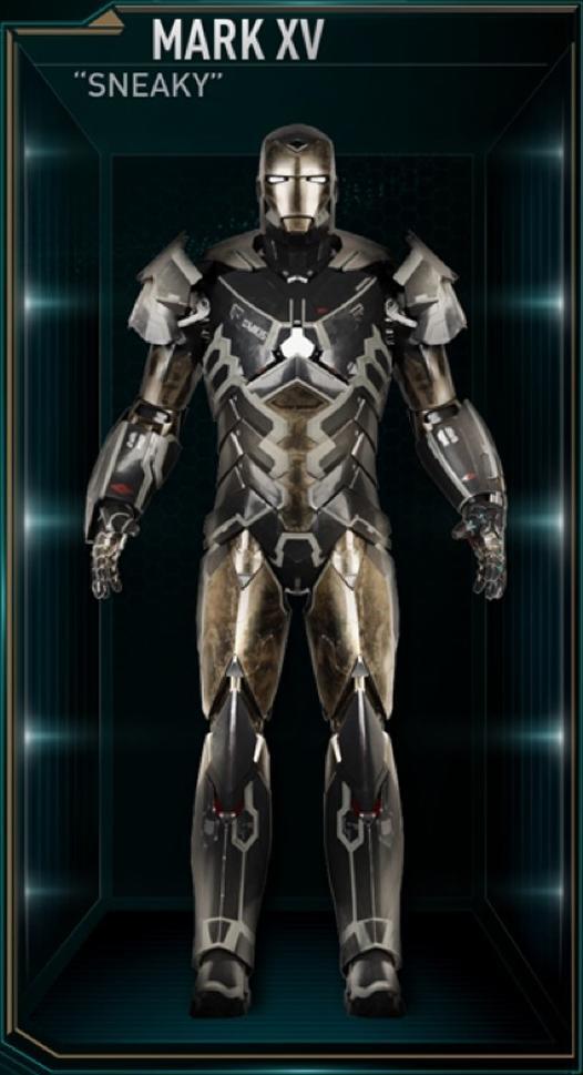Armadura de Iron Man MK XV (Tierra-199999)