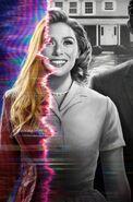 WandaVision Poster Sin Texto de la Bruja Escarlata