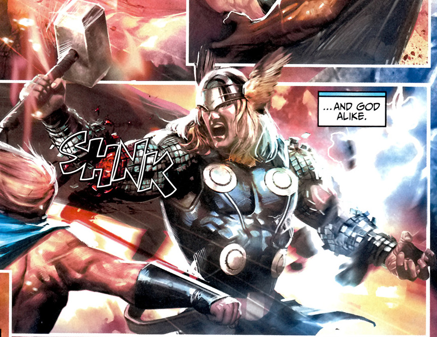 Thor Odinson (Terra-21119)/Galeria