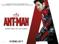 Человек-муравей плакат