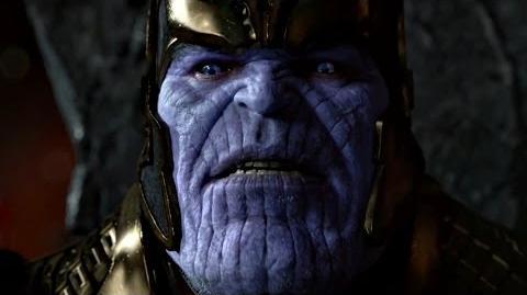 Танос угрожает Ронану