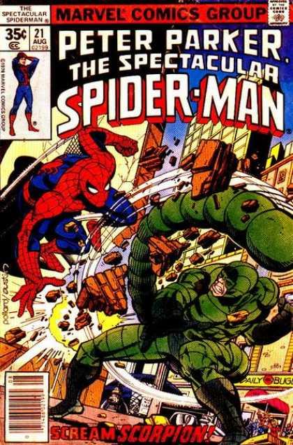 Peter Parker, O Espetacular Homem-Aranha Vol 1 21