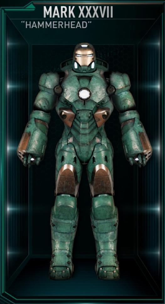 Armadura de Iron Man MK XXXVII (Tierra-199999)