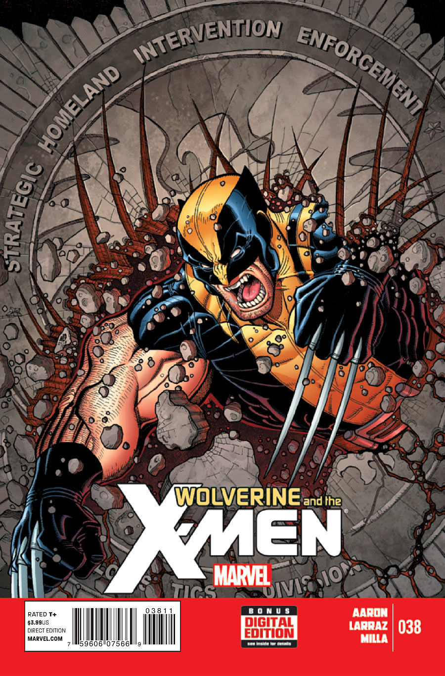 Wolverine e os X-Men Vol 1 38