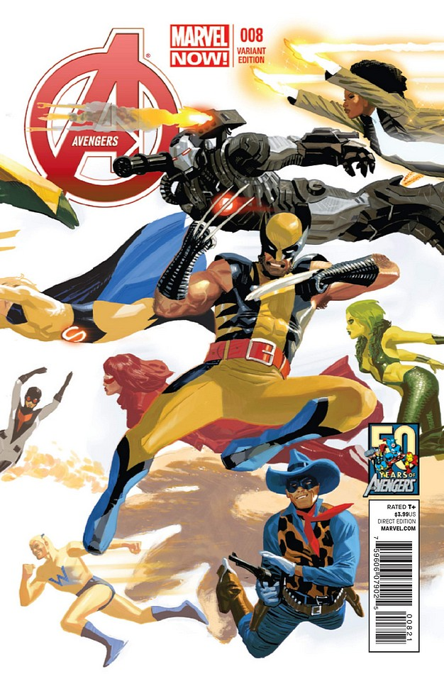 Avengers Vol 5 8 50 Years of Avengers Variant.jpg