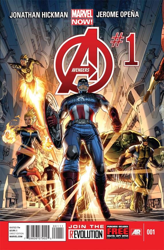 Os Vingadores Vol 5 1
