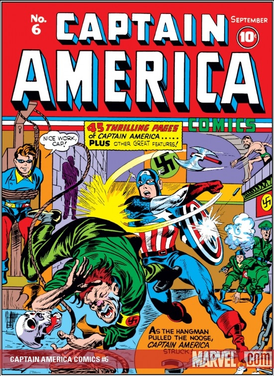 Captain America Comics Nº 6