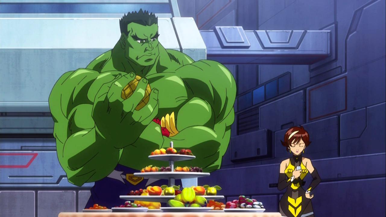 Marvel Disk Wars: The Avengers Temporada 1 1