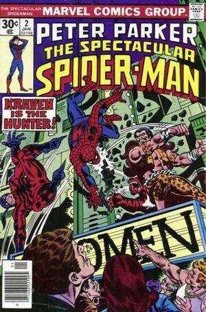 Peter Parker, O Espetacular Homem-Aranha Vol 1 2.jpg