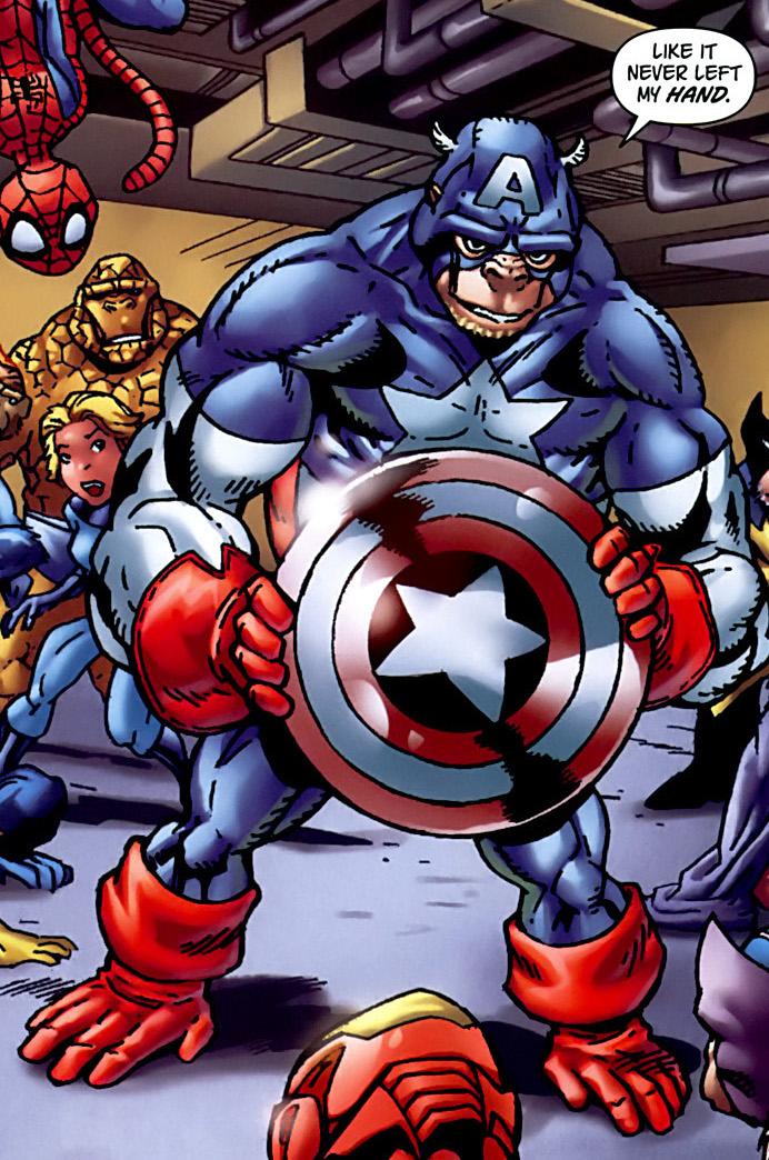 Capitán América (Tierra-8101)