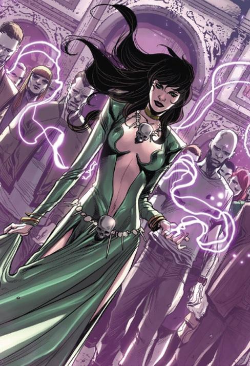 Morgana le Fay (Terra-616)/Galeria