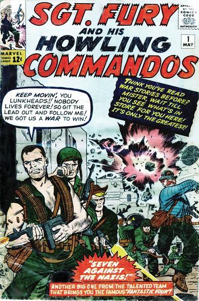 Sgt Fury e seu Comando Selvagem Vol 1 1