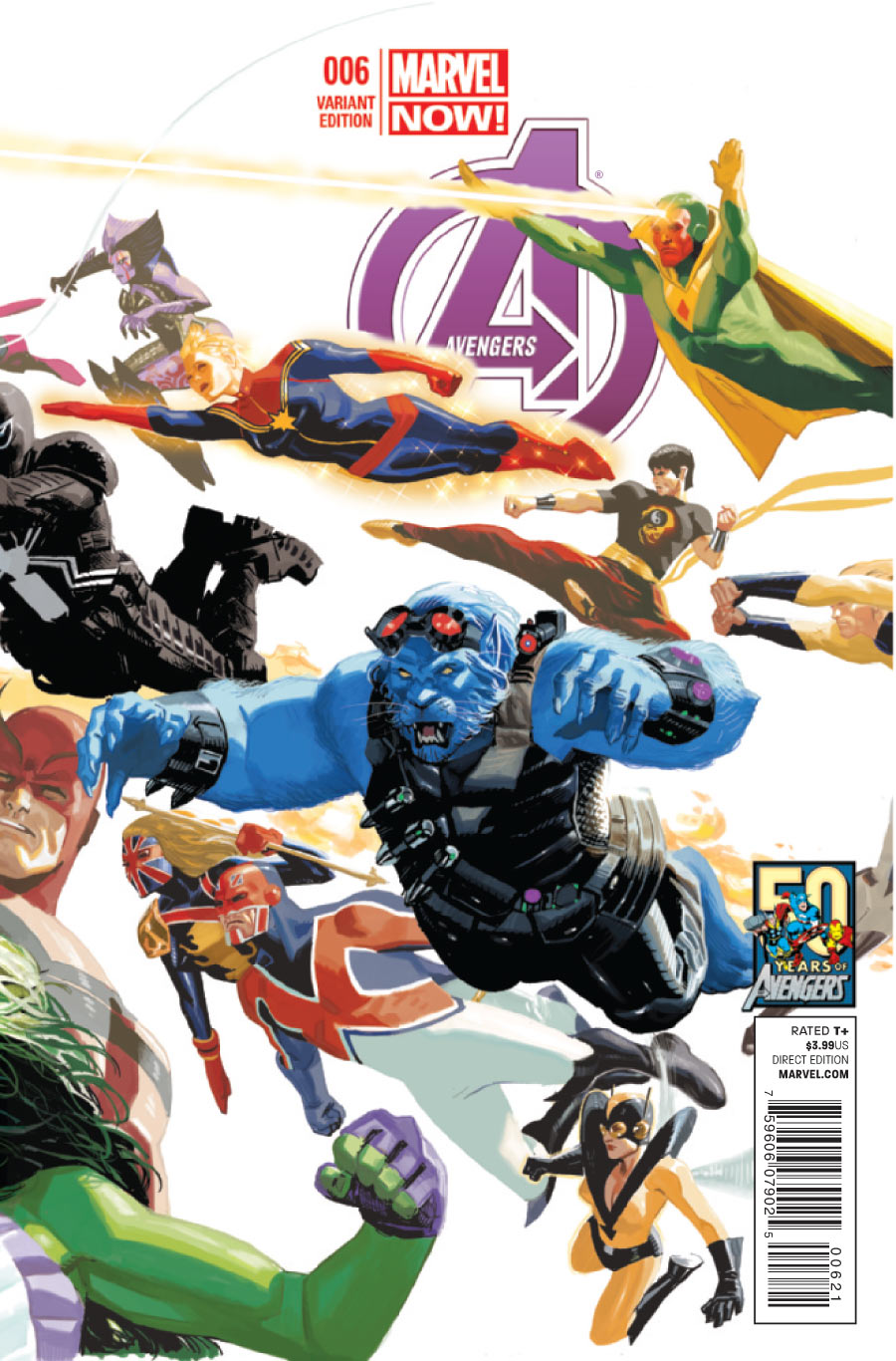 Avengers Vol 5 6 50 Years of Avengers Variant.jpg