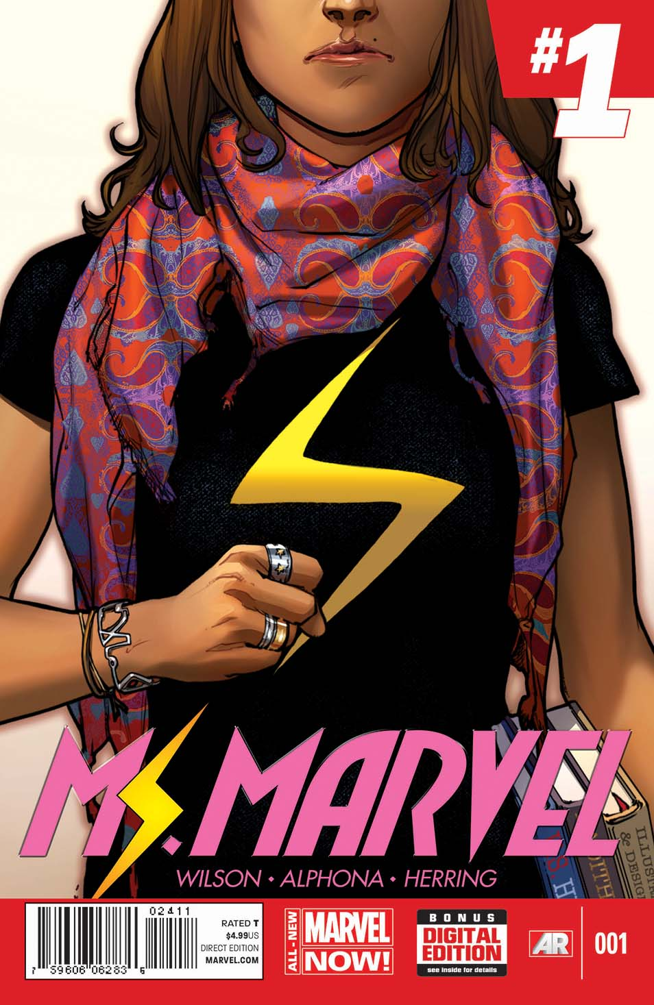 The War Knight/Marvel crea una superheroína musulmana: la nueva Ms.Marvel