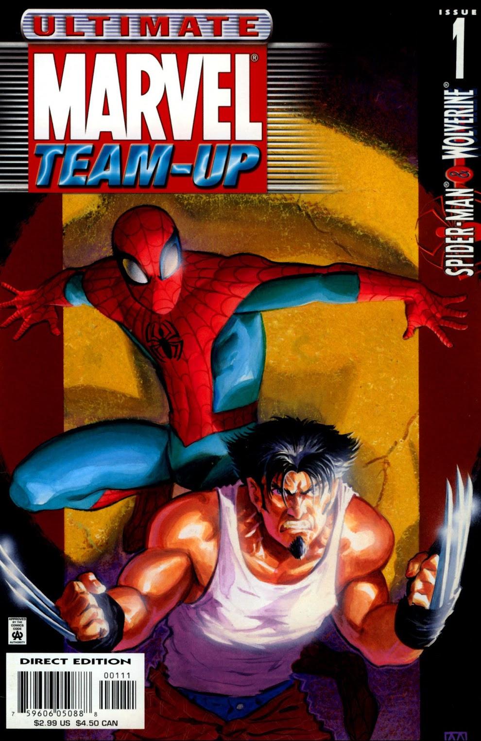 Ultimate Marvel Grandes Encontros Vol 1 1