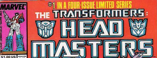 Transformers: Headmasters