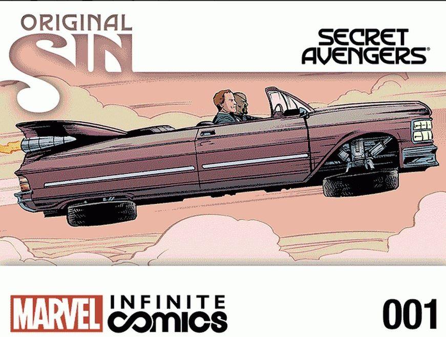 Pecado Original: Vingadores Secretos Infinite Comic Vol 1 1