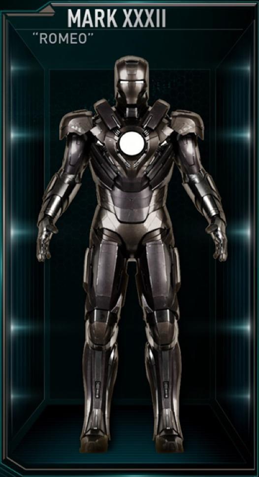 Armadura de Iron Man MK XXXII (Tierra-199999)