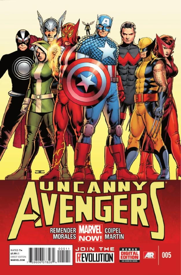 Uncanny Avengers Vol 1 5