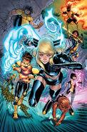 New Mutants Vol 4 1 Young Guns Variant Textless