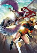 Deathbird vs Ms Marvel