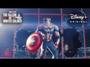 Captain America - Marvel Studios' The Falcon and The Winter Soldier - Disney+