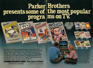 Spider-Man (Atari 2600) parker most popular programs ad
