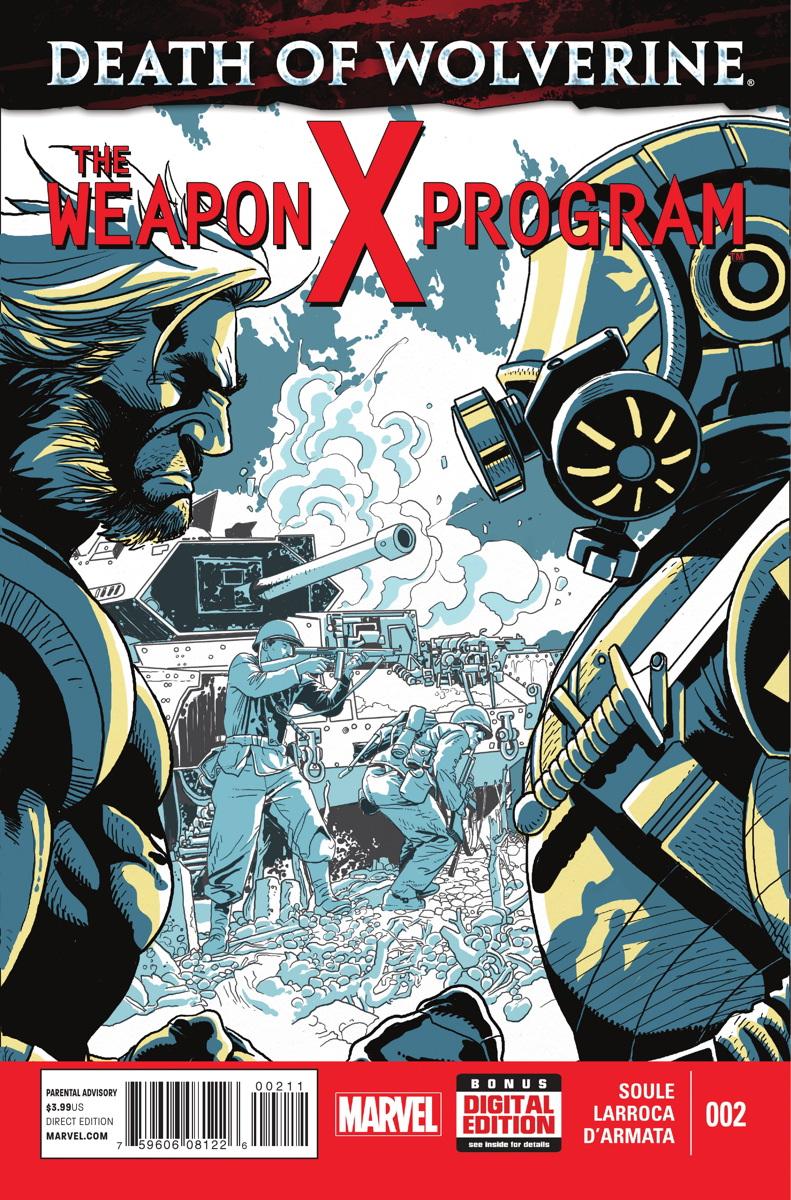 A Morte do Wolverine: O Programa Arma X Vol 1 2