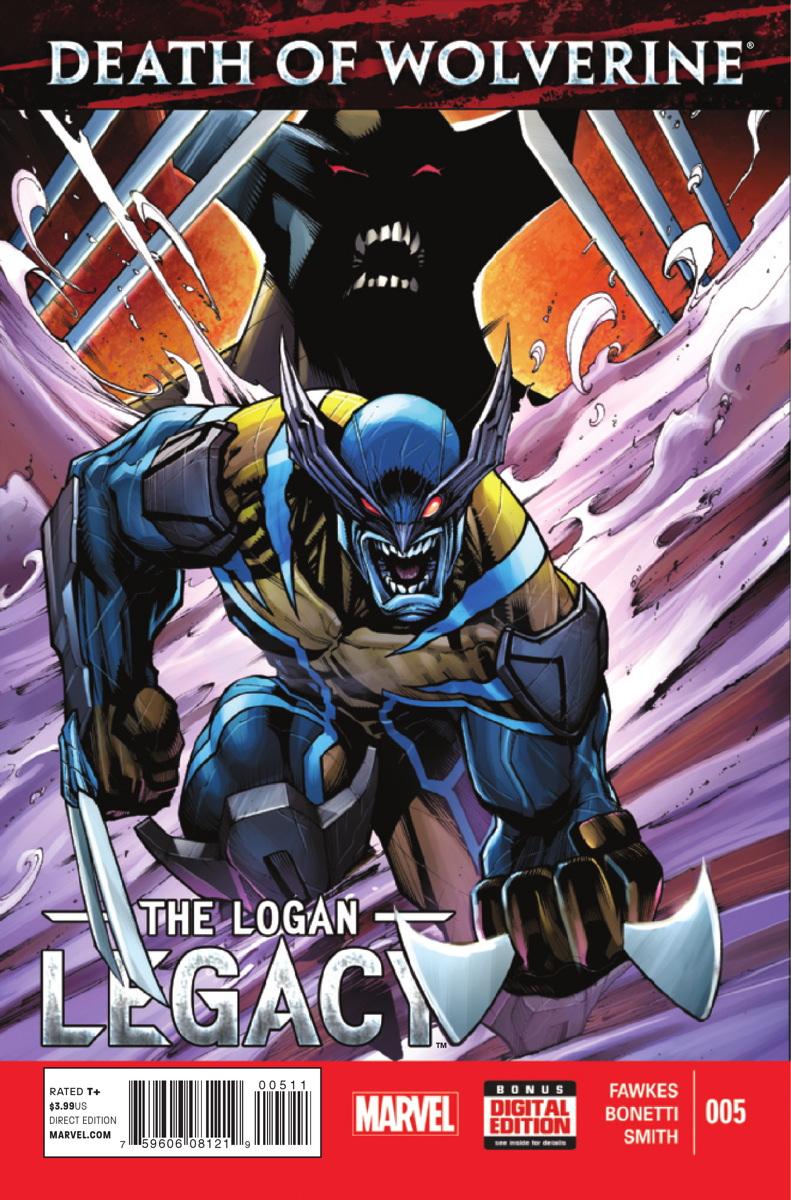 A Morte do Wolverine: O Legado de Logan Vol 1 5