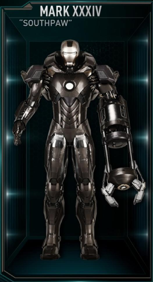 Armadura de Iron Man MK XXXIV (Tierra-199999)