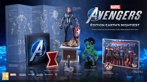 Marvel's Avengers édition earth's mightiest