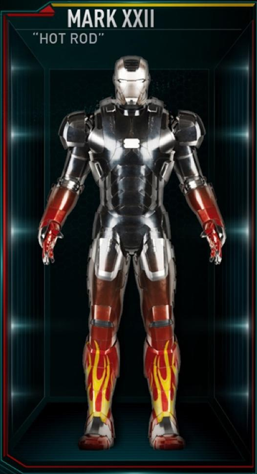 Armadura de Iron Man MK XXII (Tierra-199999)