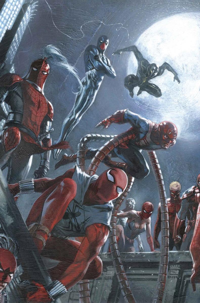 Amazing Spider-Man Vol 3 10 Dell'Otto Variant Textless.jpg