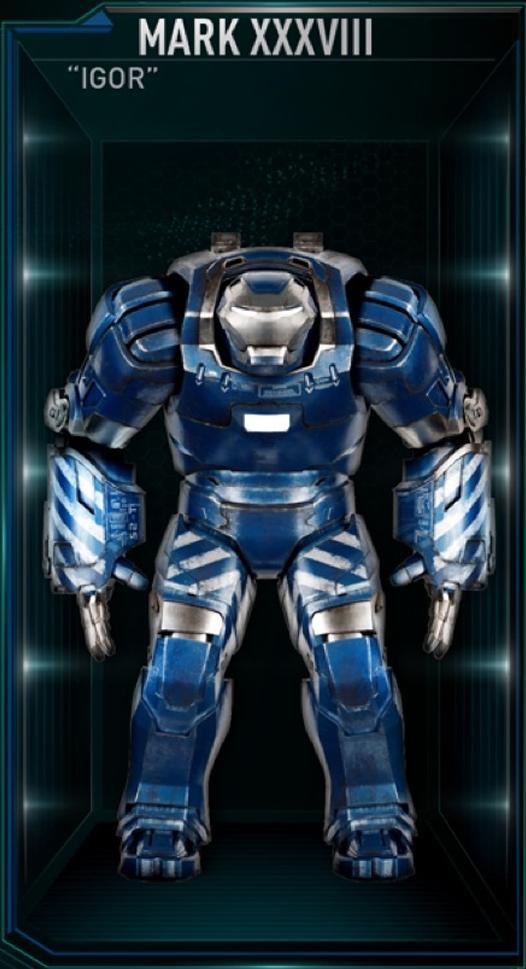Armadura de Iron Man MK XXXVIII (Tierra-199999)