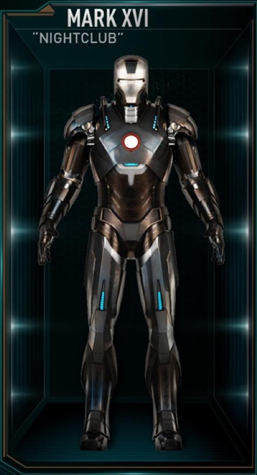 Armadura de Iron Man MK XVI (Tierra-199999)