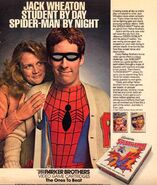 Spider-Man (Atari 2600) game ad - identity